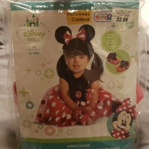 New Minnie mouse costume 6-12 months Disney